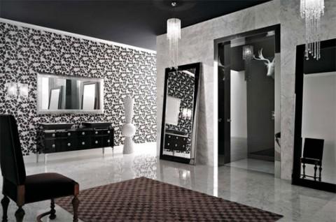 Baños en color negro 4