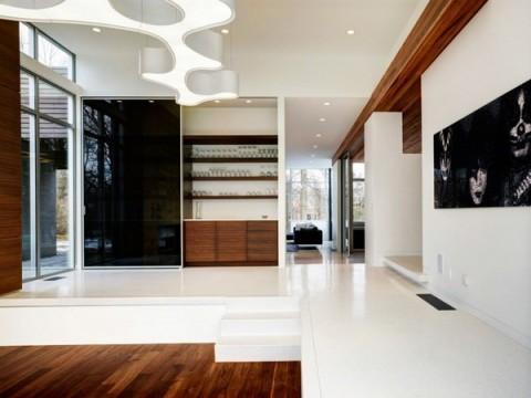 Una casa con dise o inspirado en el oto o for Lo ultimo en decoracion de casas