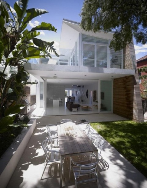 Moderna casa de playa 1
