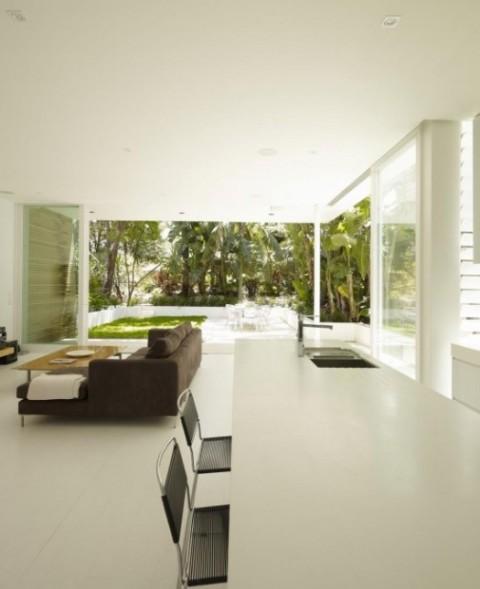 Maison Contemporaine à La Décoration Brute: Luminosa Y Moderna Casa De Playa