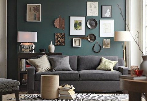 5 propuestas para decorar las paredes for Decorar paredes living