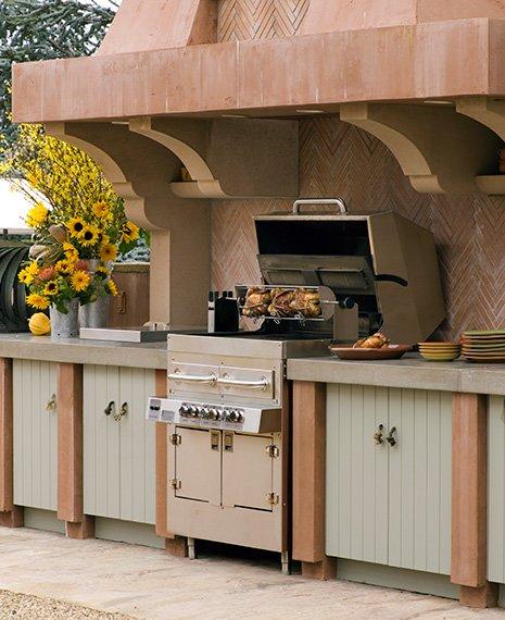 Cocinas en el exterior for Cocinas de exterior