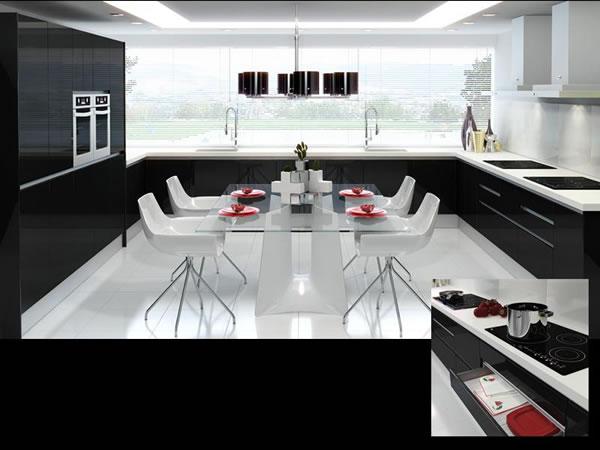 Cocinas en color negro - Cocinas alemanas modernas ...