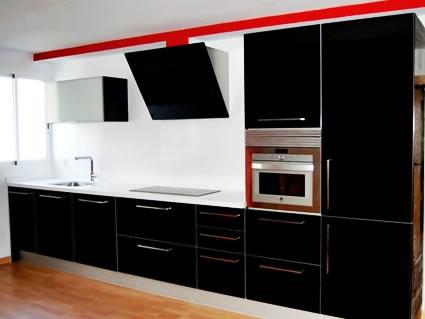 Cocinas en color negro - Colores de encimeras de silestone ...