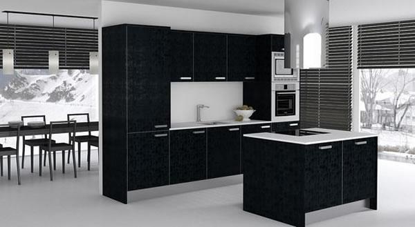 Cocinas en negro 4