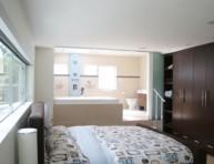 imagen Cuartos de baño integrados en el dormitorio