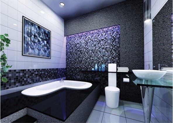 Cuartos de ba o perfectamente iluminados Azulejos para cuartos de bano modernos