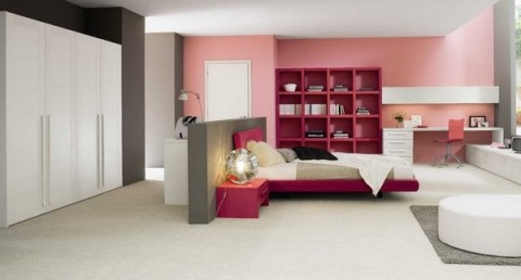 Decoración de interiores en rosa 4
