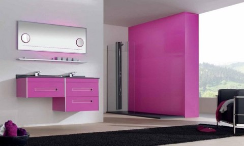 Decoración de interiores en rosa 5