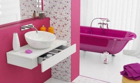 Decoración de interiores en rosa 6