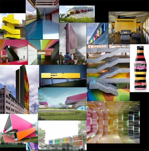 Llena de color los espacios 7