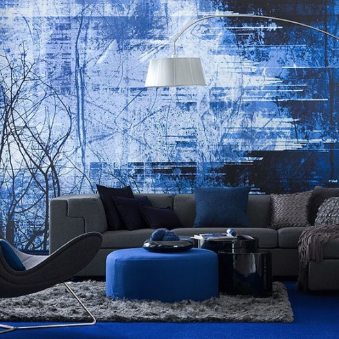 Decorar en azul marino 4