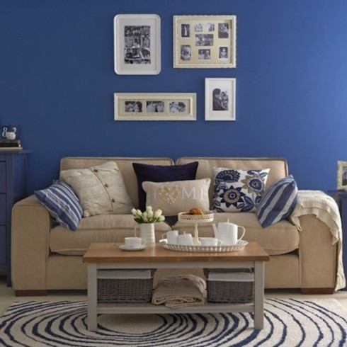 Decorar en azul marino 6