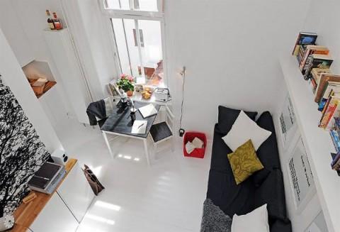 Decoración de espacios pequeños 9