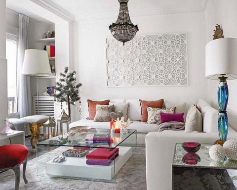 Ideas para el interior con glamour for Decoracion viviendas interiores