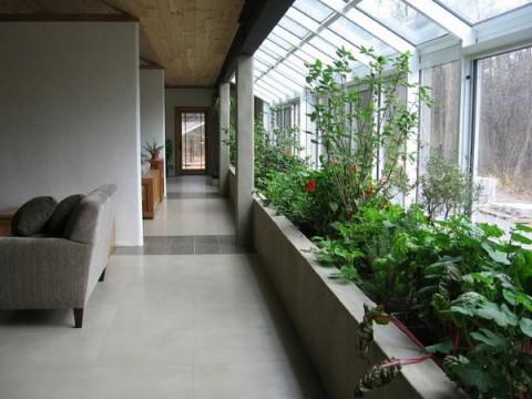 Jardines de interior una opci n - Casas con jardin interior ...