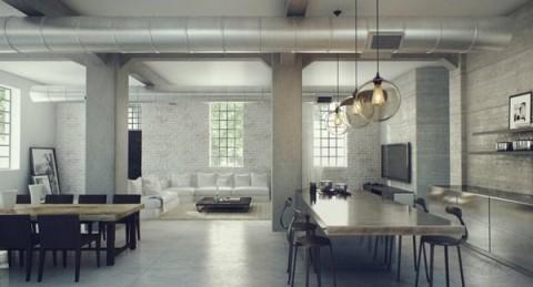 Loft de estilo industrial 1