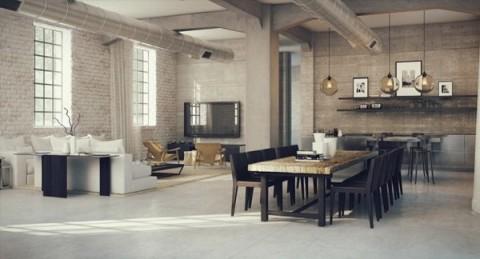 Loft de estilo industrial 3