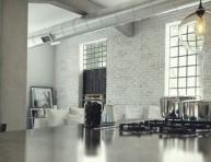 imagen Un loft espacioso e industrial