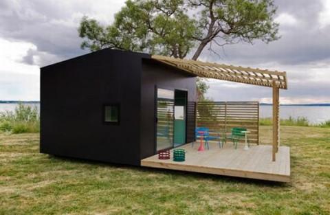 Mini casa prefabricada ecosostenible - Casas sostenibles prefabricadas ...