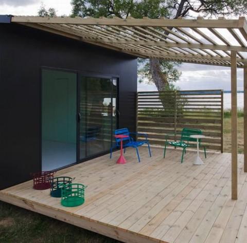 Mini casa prefabricada ecosostenible - Casitas de madera prefabricadas ...