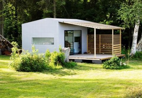 Mini casa prefabricada ecosostenible - Modulos de vivienda prefabricados ...
