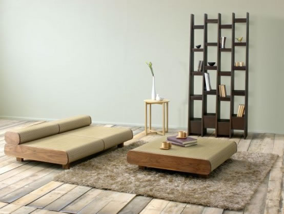 japanese style living room furniture ten una sala de inspiraci 243 n japonesa 20522