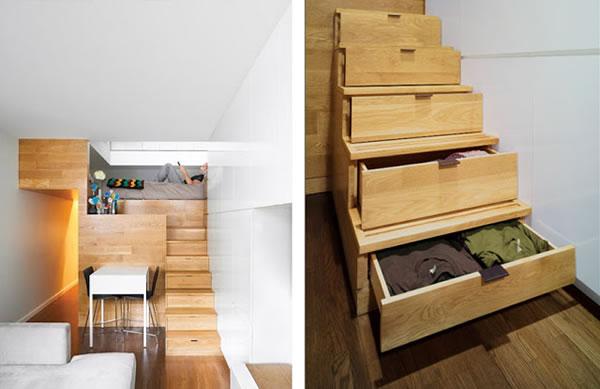 Ideas para espacios peque os - Soluciones para pisos pequenos ...