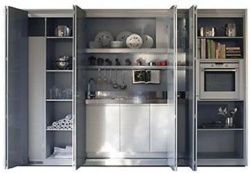 Ideas para espacios peque os for Cocinas en espacios pequenos