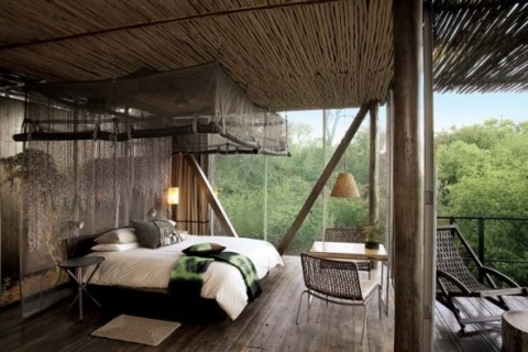 Casa de estilo africano 1