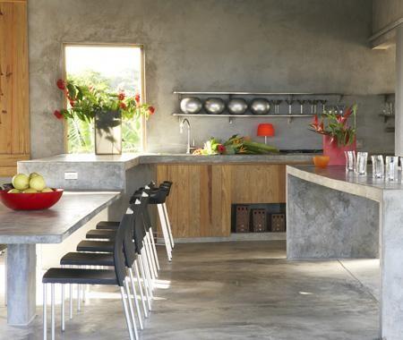 Estantes abiertos en la cocina 2