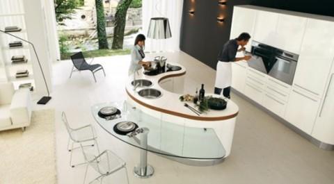 cocinas con islas 2 - Modelos De Cocinas Modernas