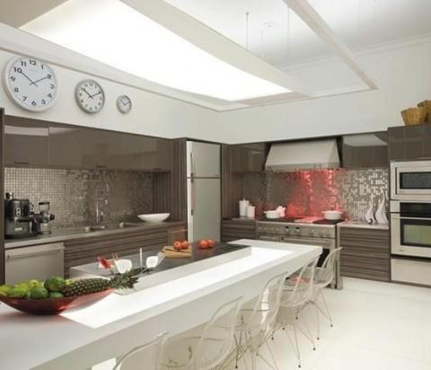 Cocinas modernas con isla central - Cocinas con isla central fotos ...