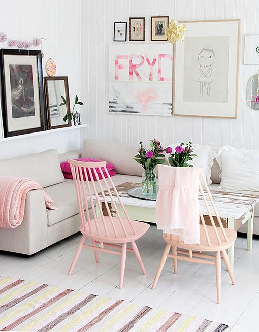Decoraci n en tonos pastel - Decorar casa estilo nordico ...