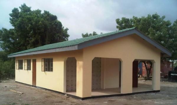 Sistema de construcción de viviendas de bajo costo 1