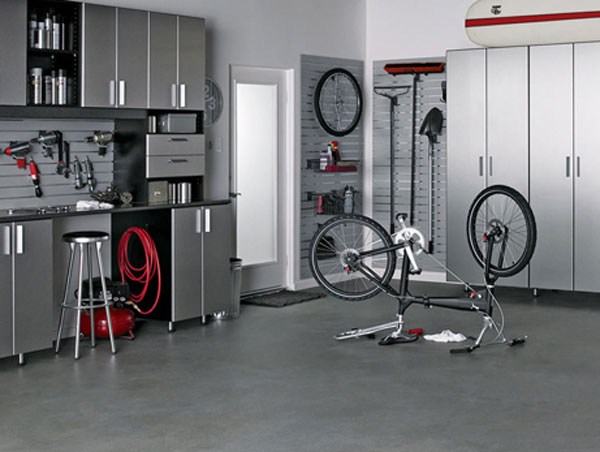 Aparador Blanco Madera ~ Ideas para organizar el garage