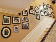 imagen Cómo planificar la decoración de la pared de la escalera