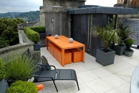 Terrazas de estilo minimalista for Terrazas pequenas minimalistas