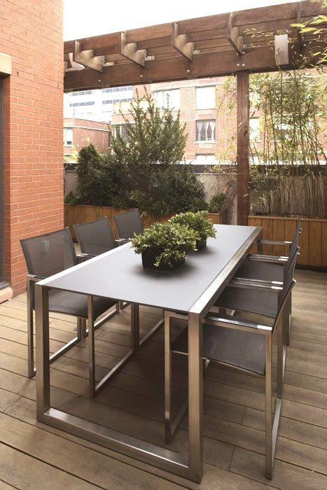 Terrazas de estilo minimalista for Estilos de terrazas