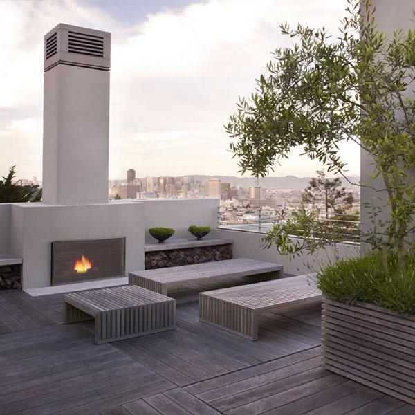Terrazas de estilo minimalista - Decoracion exteriores terrazas ...