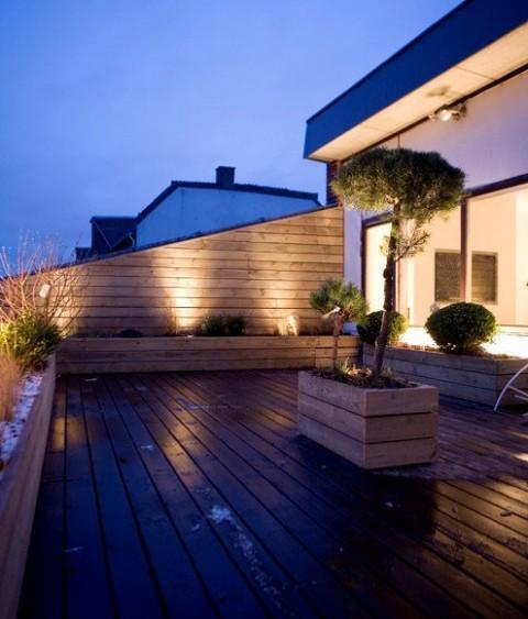 Terrazas de estilo minimalista for Terrazas minimalistas modernas