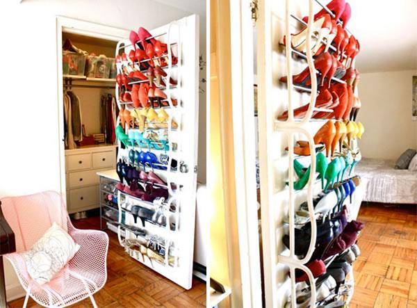 Propuestas para almacenar y organizar zapatos - Almacenaje zapatos ...