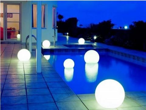 Iluminación de piscinas 1