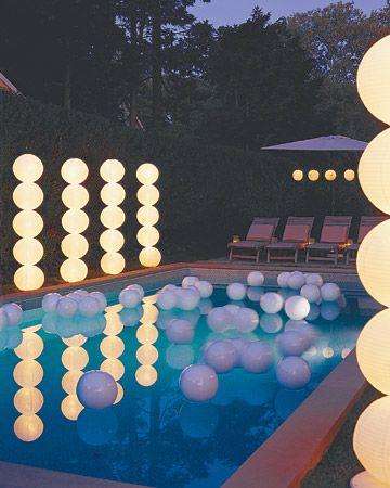 Iluminación de piscinas 2