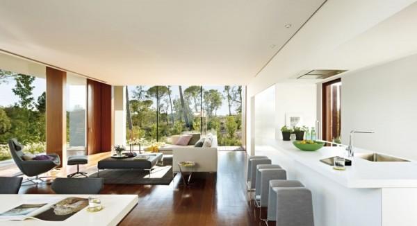 Villa indigo una casa moderna y exclusiva - Casas americanas interiores ...