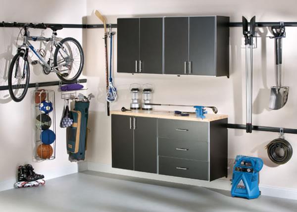 ideas para organizar el garage