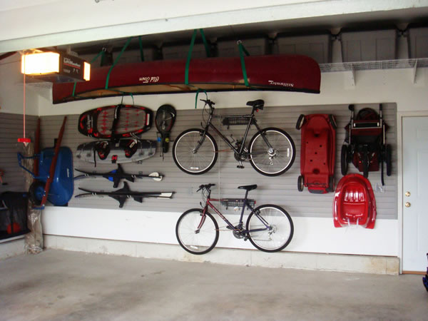 Ideas para organizar el garage - Decorar un garaje ...