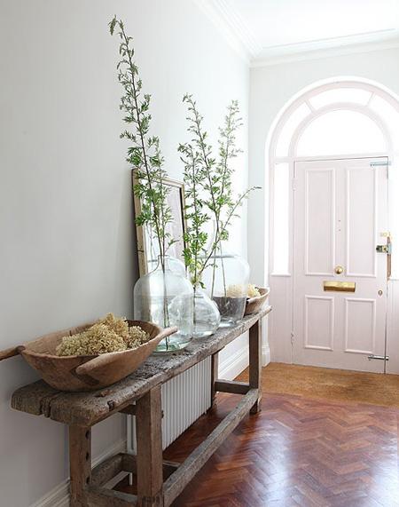 Luminosos recibidores en color blanco - Colores para recibidores ...