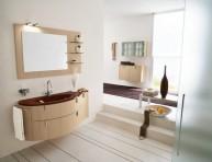 imagen Baños modernos con madera