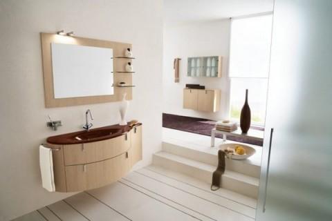 Baños con madera 3